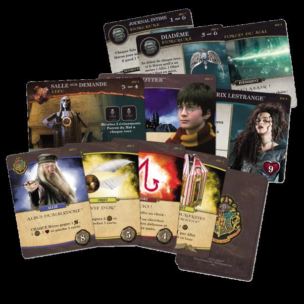 Hogwarts Battle - Cartes