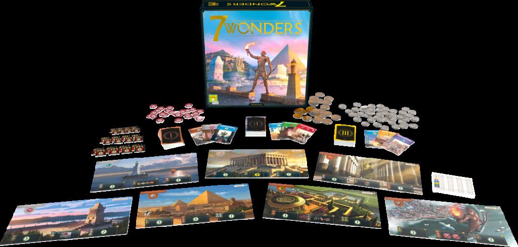 7 Wonders - Plateau